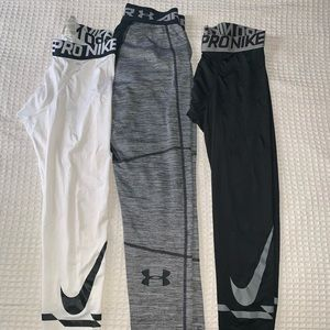 Nike & Under Armour Compression Leggings